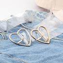 Fashion woman transparent resin pin buckle PVC belt strap for jeans dress NHPO134261