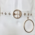 NHPO129485-105cm-Small-round-buckle-+-gold-+-eye-+-pendant