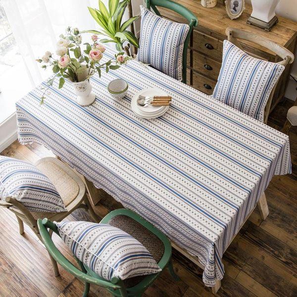 Stylish waterproof cartoon tablecloth kitchen living room multi types NHSP134594