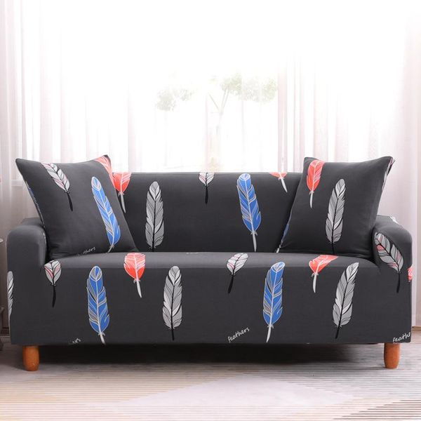 Comfortable feather sofa cover slipcover cushion for multiple seats NHSP134617
