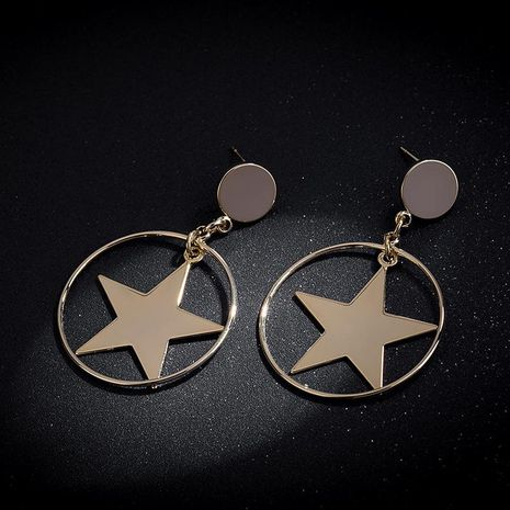 Aretes de aleación Star Plating de mujer NHLL134713's discount tags