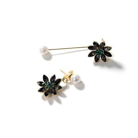 Aretes de aleación de chapado geométrico de las mujeres NHLL134730's discount tags