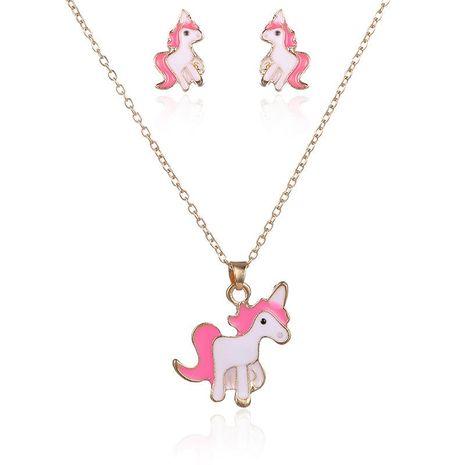 Collares de aleación de animales  zodiaco para mujer NHSD134738's discount tags