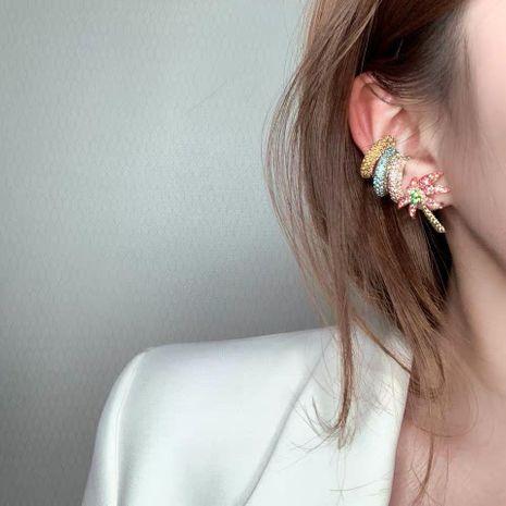 Aretes de aleación geométrica de diamante geométrico para mujer  NHYQ134827's discount tags