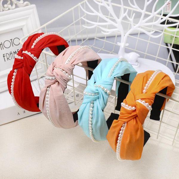 Womens Cloth Beads Honey House Jewelry Hair Band & Headbands NHOU134843
