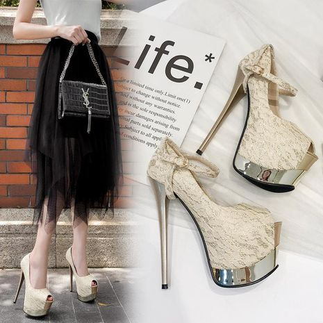 Fashion pointed high heel stiletto shoes NHSO135038's discount tags