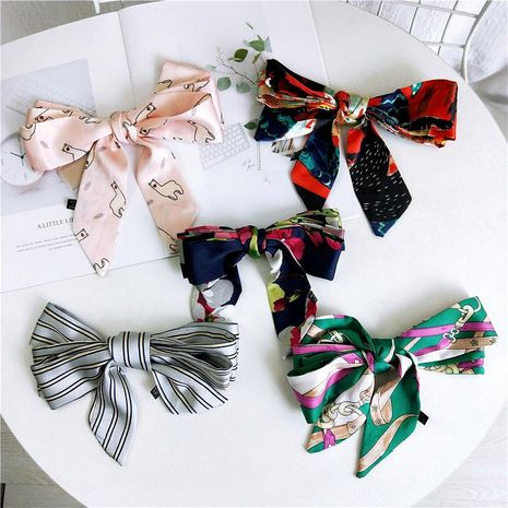 Korean slender narrow scarf female scarf NHMN135085's discount tags