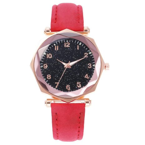 Fashion luminous dial octagonal digital watch NHHK135163's discount tags