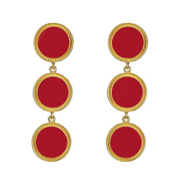 Fashion punk style bohemian earrings NHOT135181