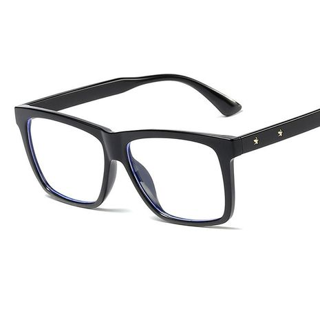 Fashion big frame anti-blue glasses NHFY135234's discount tags