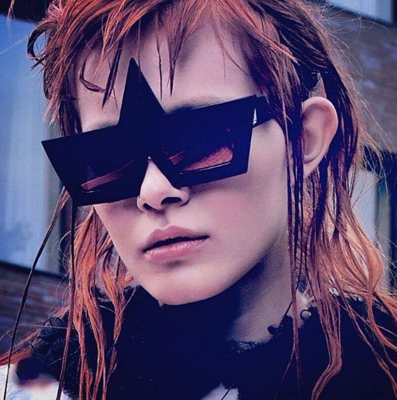 Angel Little Devil Square Fashion Sunglasses NHFY135242