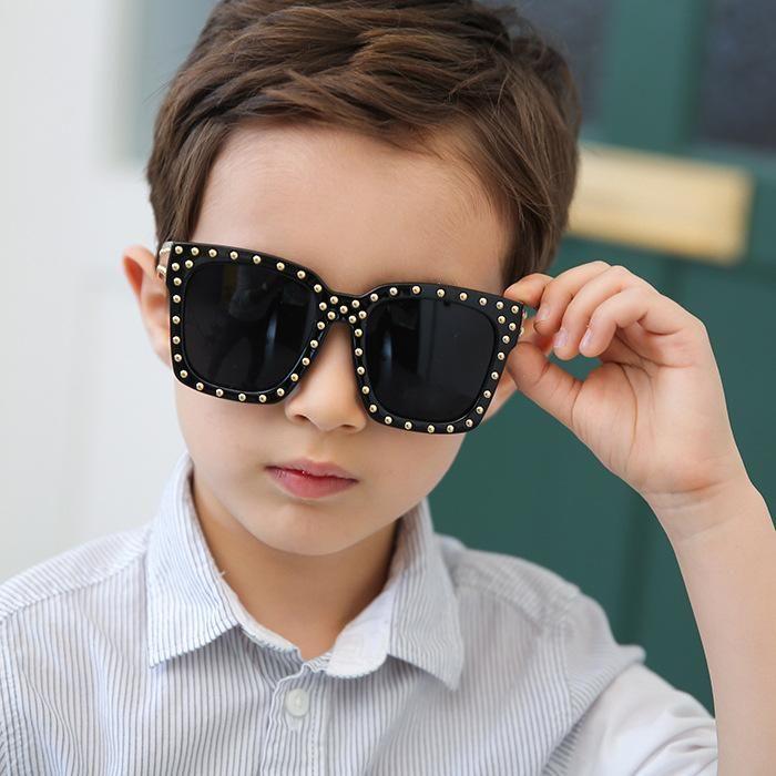 Cool cool wild rivet UV protection sunglasses NHFY135263