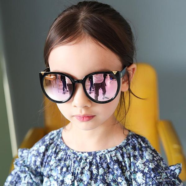 Fashion street shoot wild UV protection baby eye sunglasses NHFY135272