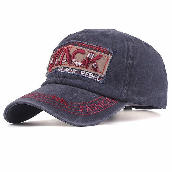 Cotton cloth letter embroidery hat men's hat NHZL135281