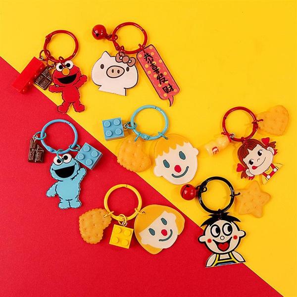 Creative Cartoon Cute SpongeBob Pig Keychain AirPods Cover NHJP135288