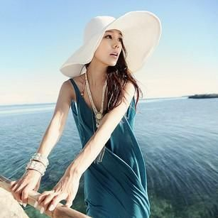 Korean version of the beach with large shades NHXO135309's discount tags