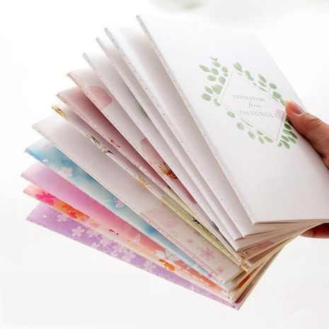 Small fresh and lovely simple creative notebook NHHE135323's discount tags