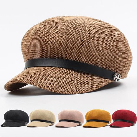 Sun visor summer straw hat NHXO135341's discount tags