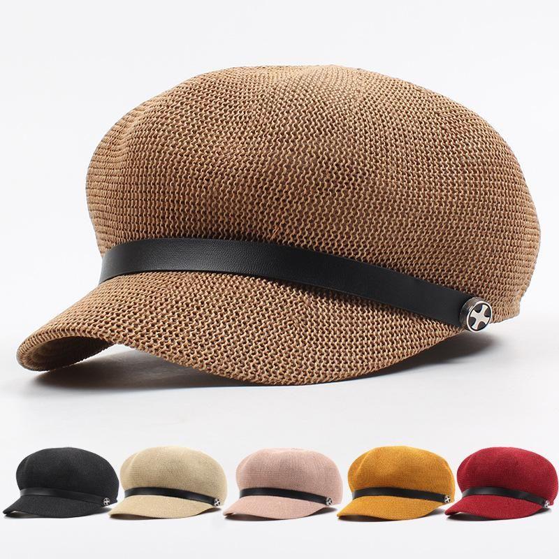 Sun visor summer straw hat NHXO135341