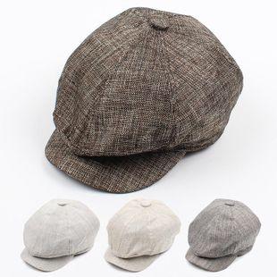 Visor Korean version of the British leisure gentleman beret NHXO135343's discount tags