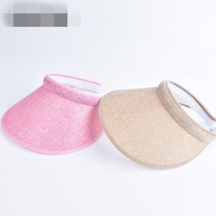 Summer cycling UV protection sunshade straw hat NHXO135353's discount tags