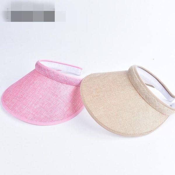 Summer cycling UV protection sunshade straw hat NHXO135353