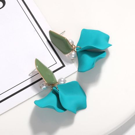 Wild girl petals beads creative earrings NHJQ130689's discount tags