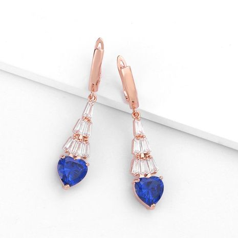 Womens Heart-Shaped Electroplating Alloy Soaring Earrings NHAS130702's discount tags