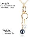 Fashion sexy long necklace NHCT130560