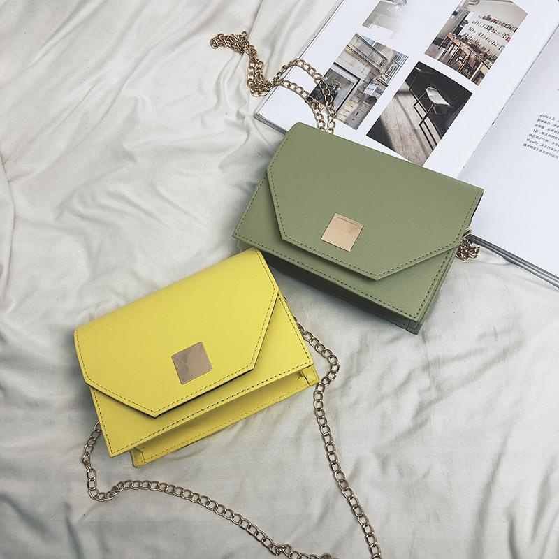 Korean version of the chain shoulder bag texture small square bag NHXC135444