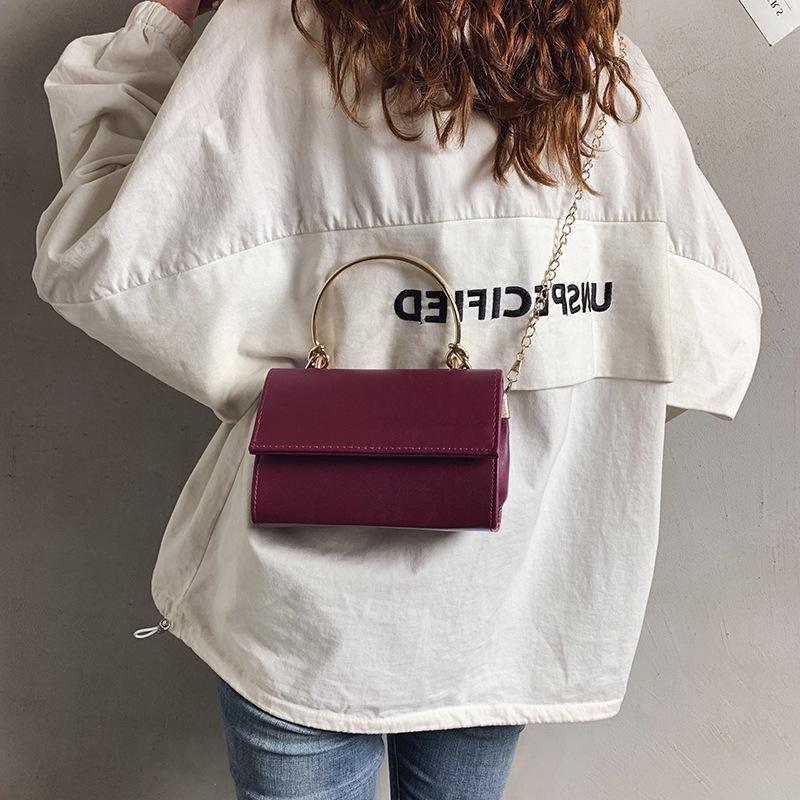 Wild Korean version of the shoulder Messenger bag retro fashion small square bag NHXC135504