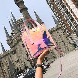 Transparent portable mother bag shoulder messenger bag NHXC135563's discount tags