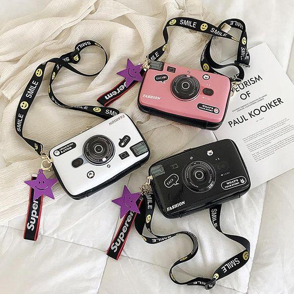 Bolso bandolera cámara de moda bandolera multicolor NHLD135634