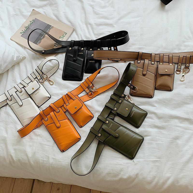 Fashion waterproof waist bag shoulder bag handbag backpack multicolor NHLD135800