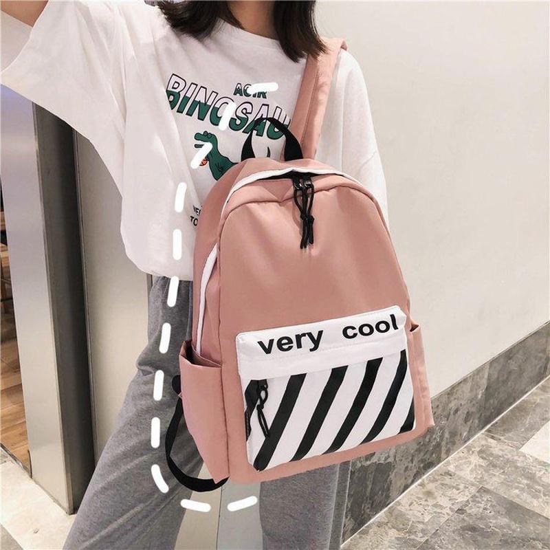 Fashion student shoulder bag handbag shoulder bag multicolor NHHX135818
