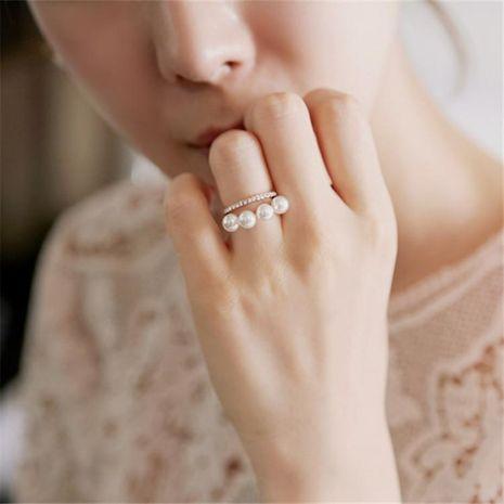 Perles coréennes strass double couche anneau tridimensionnel NHMS135978's discount tags