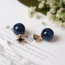 Womens Crown Gemstone Alloy Earrings NHMS135878