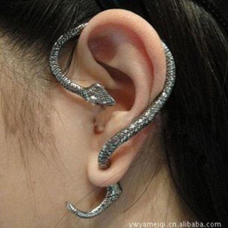 Fashion women snake shaped ear cuff clip earrings alloy alloyen NHDP136116's discount tags