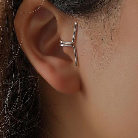 Fashion women U-shaped ear cuff clip earrings alloy alloyen NHDP136117's discount tags