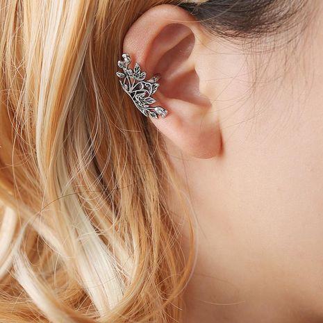 Fashion women lotus ear cuff clip earrings alloy alloyen NHDP136120's discount tags