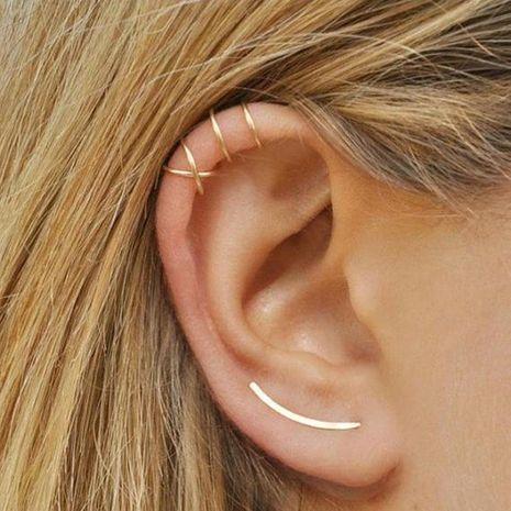 Fashion women U-shaped ear cuff clip earrings alloy alloyen NHDP136122's discount tags