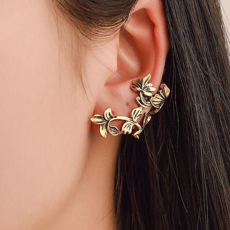 Fashion women metal leaves single ear cuff clip earrings alloy alloyen NHDP136128's discount tags