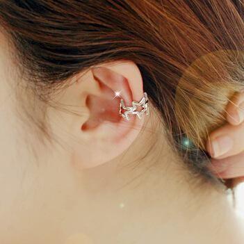 Fashion women stars single ear cuff clip earrings alloy alloyen NHDP136129's discount tags