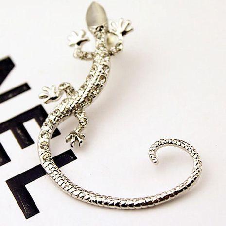 Fashion women lizard ear cuff clip earrings alloy alloyen NHDP136131's discount tags