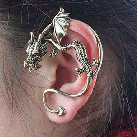 Fashion women dragon kiss single ear cuff clip earrings alloy alloyen NHDP136141's discount tags