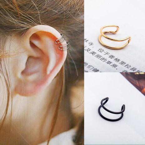 Fashion women U-shaped single ear cuff clip earrings alloy alloyen NHDP136145's discount tags