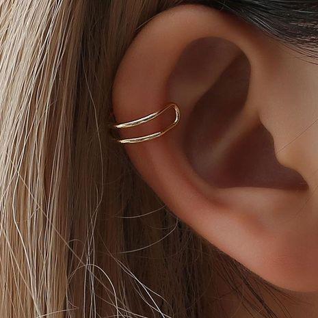 Fashion women C-shaped single ear cuff clip earrings alloy alloyen NHDP136148's discount tags