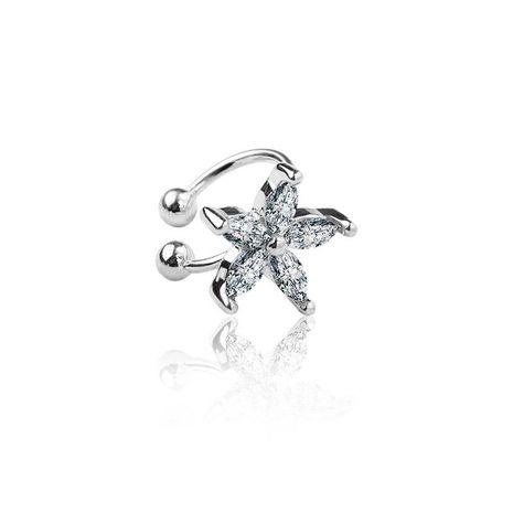 Fashion women rhinestone stars single ear cuff clip earrings alloy alloyen NHDP136152's discount tags