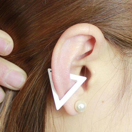 Fashion women triangle single cuff clip earrings alloy alloyen NHDP136153's discount tags