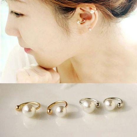 Fashion women beads U-shaped ear cuff clip earrings alloy alloy NHDP136158's discount tags